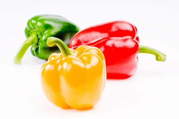 Asia Food Photograph - Colorful Sweet Peppers by Setsiri Silapasuwanchai