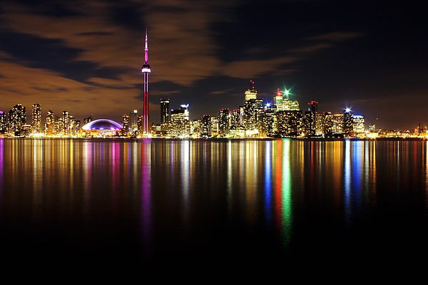 Toronto Photograph - Colorful Toronto by Matt  Trimble