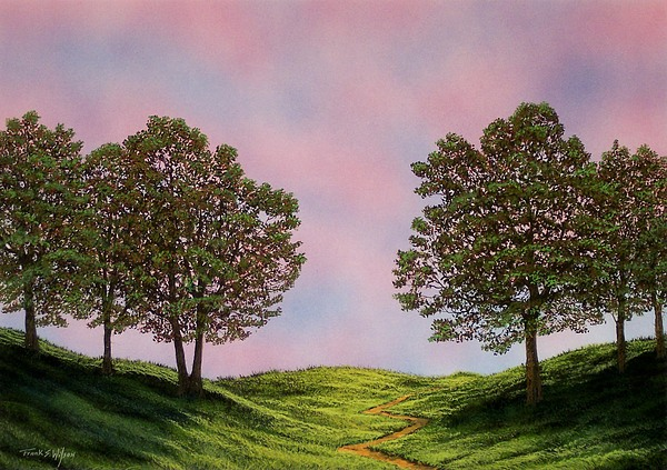 Landscape Painting - Colors Of Dawn by Frank Wilson