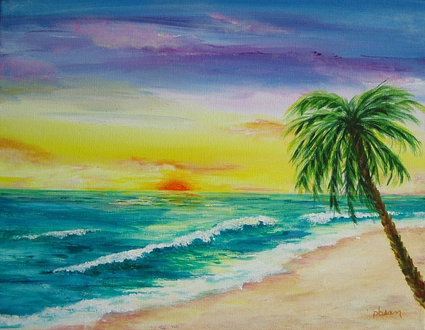 Sunset Painting - Colorset by Patti Bean