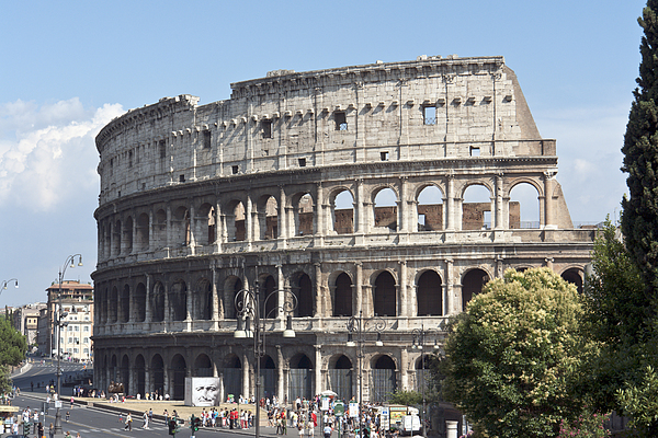 Colosseum Photograph - Colosseo I by Fabrizio Ruggeri