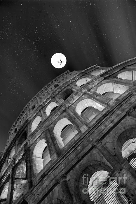 Colosseo Photograph - Colosseum Panorama by Stefano Senise
