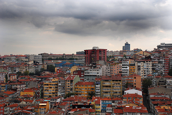 Landscapes Photograph - Colourful Istanbul by Eva Glykou