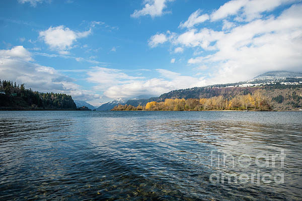 Columbia River Photograph - Columbia River by Linda Steider