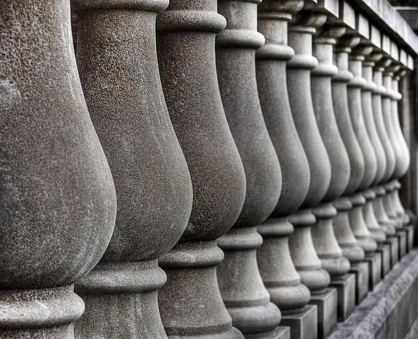 Ann Arbor Photograph - Columns by Chris Fleming