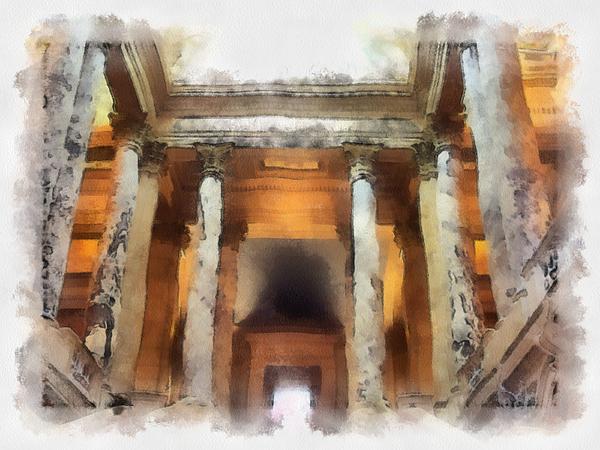 Columns Photograph - Columns by Paulette B Wright