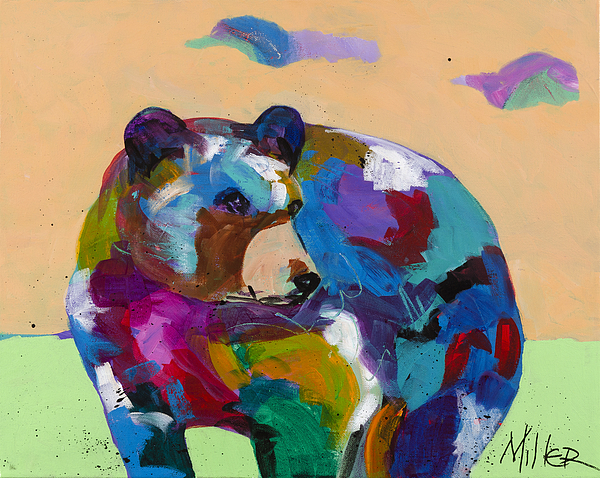 Bear Painting - Come Along by Tracy Miller