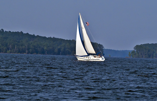 Landscape Photograph - Come Sail With Me by Michael Whitaker