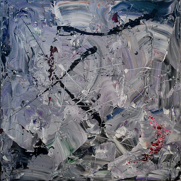 Abstract Painting - Comfortably Numb by Timothy Clayton