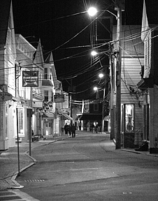 Landscape Photograph - Commercial Street Provincetown by William Obernesser