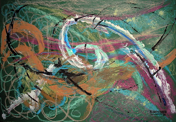 Composition 1034 Painting by Ramon Castellano de Torres