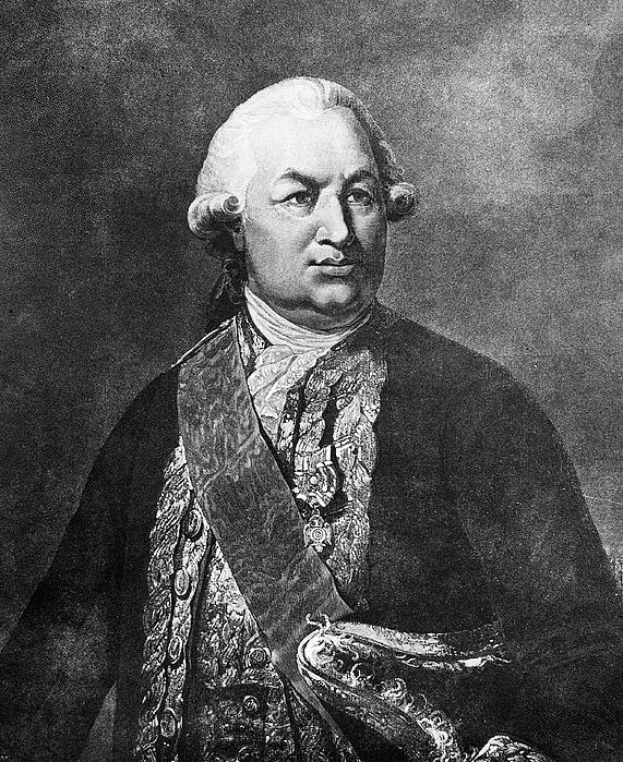 18th Century Photograph - Comte De Grasse (1722-1788) by Granger