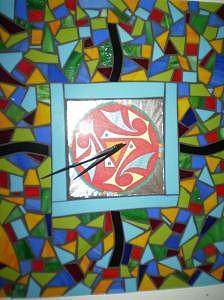 Confetti Glass Art by Shelly Bird