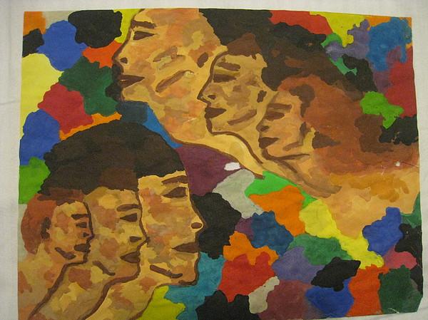 Conformity Painting by Ildiko Szilank