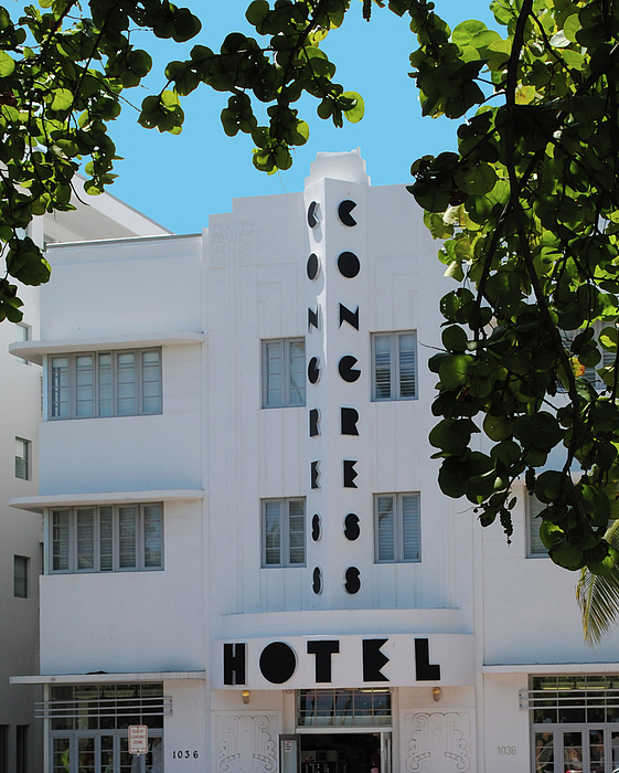 Hotel Photograph - Congress Hotel by Jost Houk