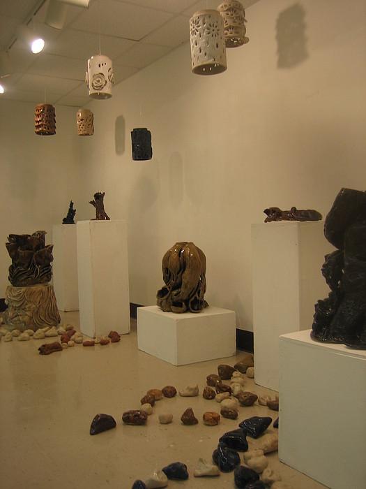 Ceramic Mixed Media - Connectons by Lehua Ehukai
