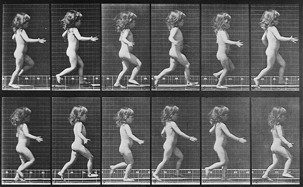 History Photograph - Consecutive Images Of A Little Nude by Everett