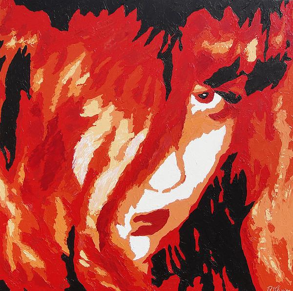 Portrait Painting - Consumed by Ricklene Wren