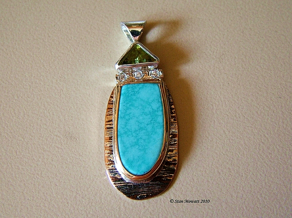 Handmade Jewelry Jewelry - Cool Blue Waters by Stan Mowatt