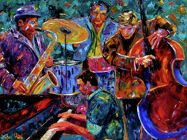Cool Jazz Painting by ...