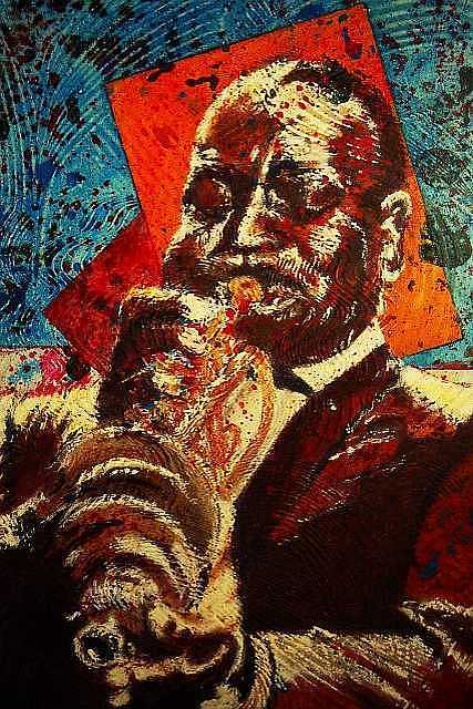Cootie Williams Mixed Media by Logan Kearse