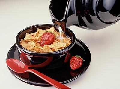 Bowl Photograph - Corn Flakes by William Love