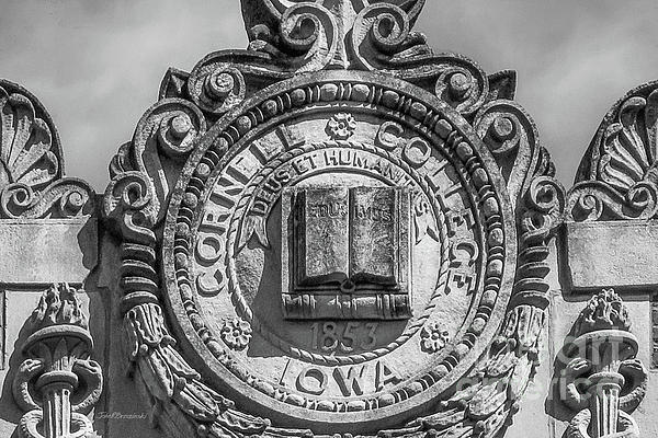 Cornell College Photograph - Cornell College Seal by University Icons