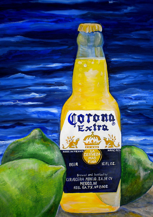 Corona Painting - Corona by Patti Schermerhorn