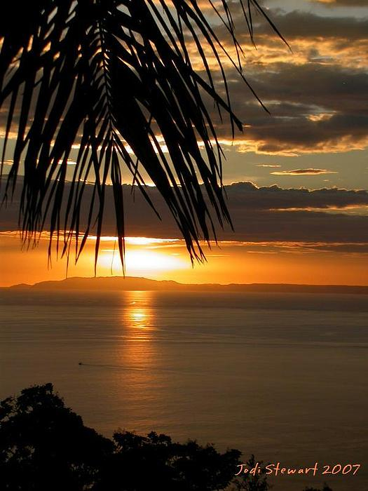 Costa Rica Photograph - Costa Rica Sunset by Jodi Stewart