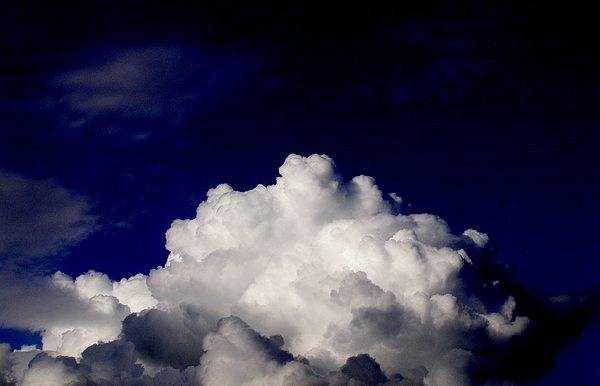 Cloud Photograph - Cotton Sky by Kathy Daxon