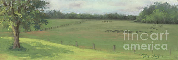 Country Quiet Painting by Terri  Meyer