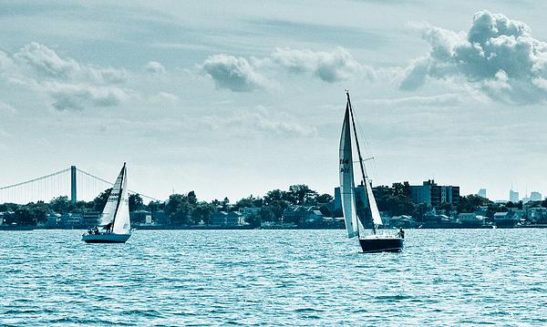 Sailboat Photograph - Covering by Arthur Sa