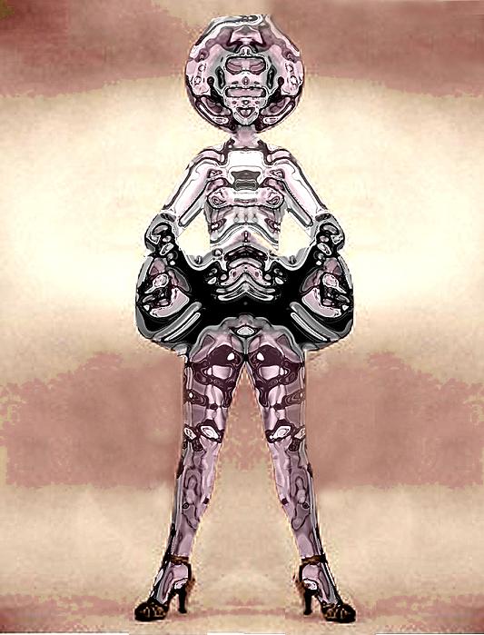 Cowgirls Digital Art - Cowgirl by Peter Lloyd