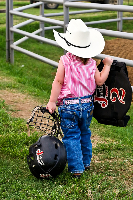Cowgirl Photograph - Cowgirl Up by Greg Martin
