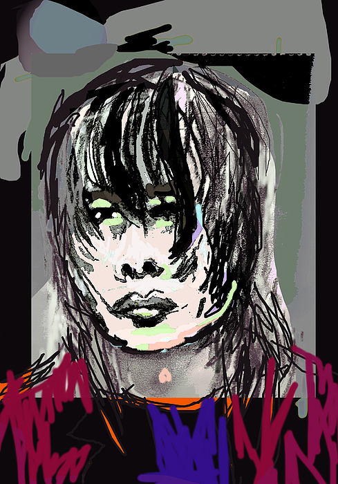 Portrait Digital Art - Craig by Joyce Goldin