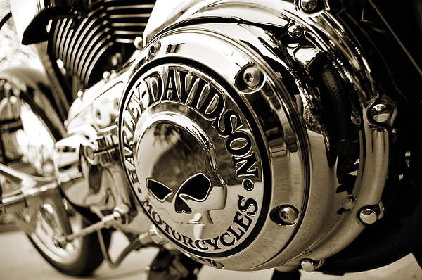 Motorcycle Photograph - Cranky Chrome by Mark Weaver