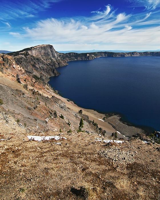 Crater Photograph - Crater Lake by Igor Talpalatski