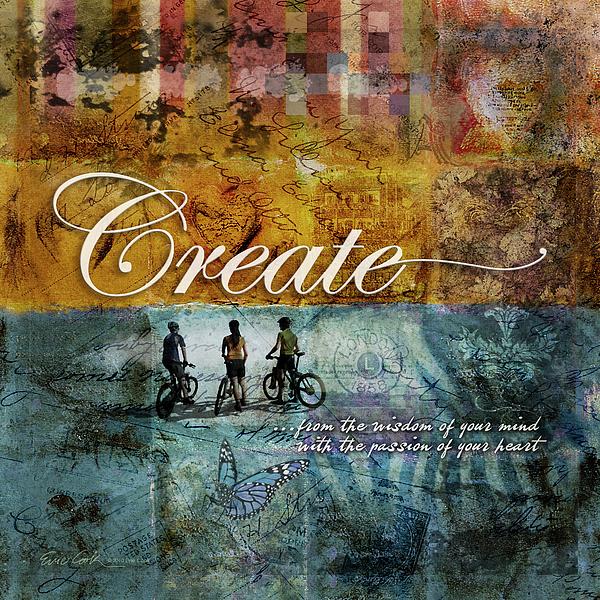 Create Digital Art - Create by Evie Cook