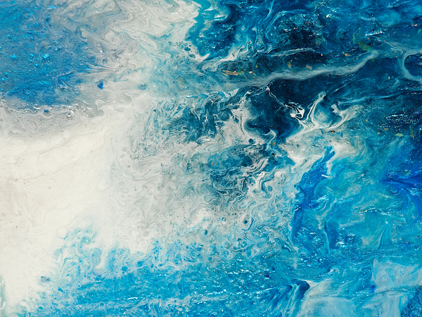 Creation - Close Up Example Painting by Paul Tokarski