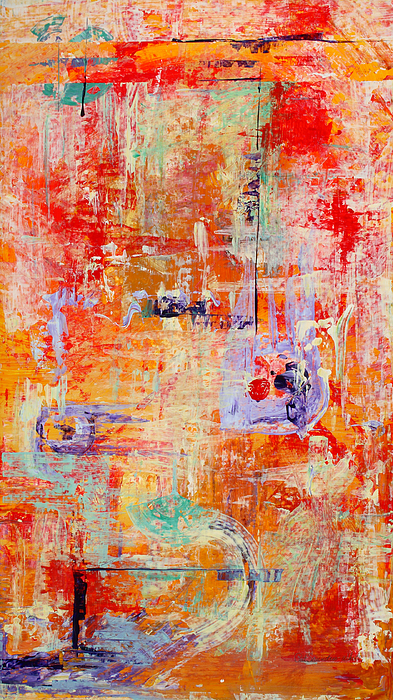 Abstract Painting - Crescendo by Pat Saunders-White