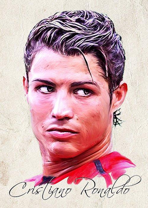Cristiano Ronaldo Painting - Cristiano Ronaldo by Wu Wei