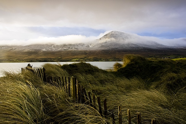 Cloud Photograph - Croagh Patrick, County Mayo, Ireland by Peter McCabe