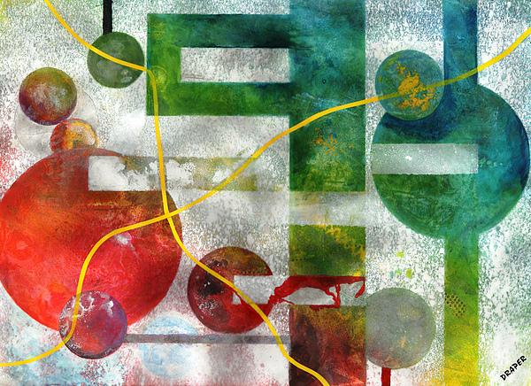Universe Painting - Crossing Jordan by James Douglas Draper