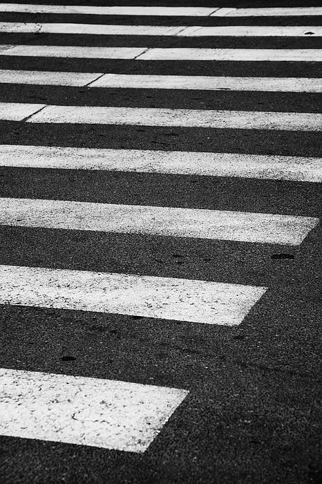 Crosswalk Photograph - Crosswalk by Gabriela Insuratelu