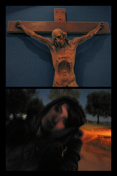 Crucifixion Photograph - Crucifixion by James W Johnson
