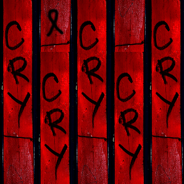 Abstract Photograph - Cry With A Ribbon by Taylor Steffen SCOTT