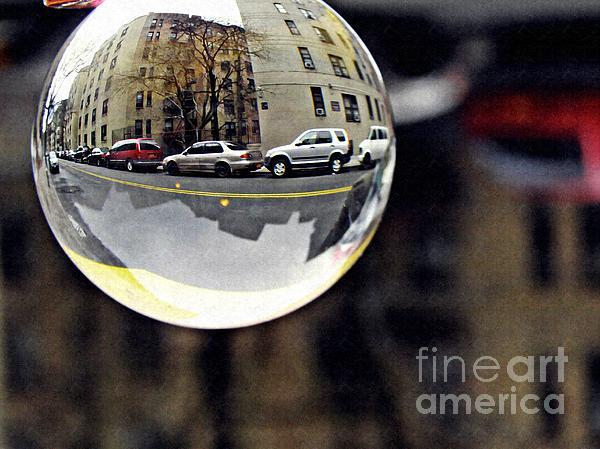 Crystal Photograph - Crystal Ball Project 89 by Sarah Loft