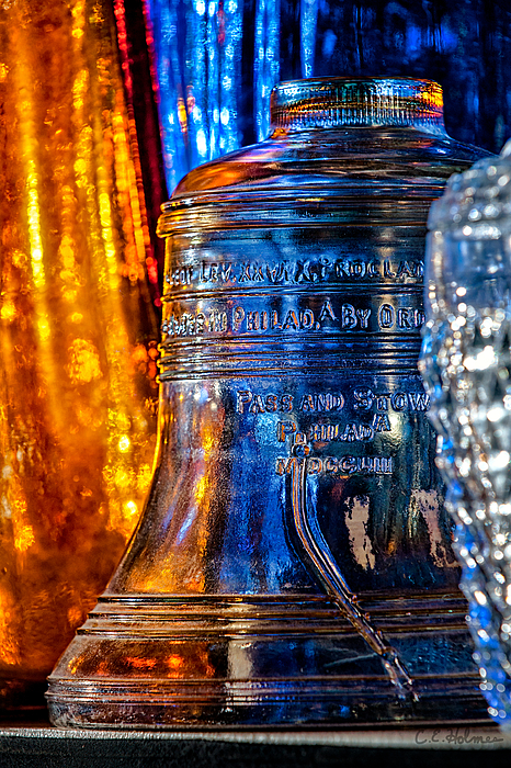 Liberty Bell Photograph - Crystal Liberty Bell by Christopher Holmes