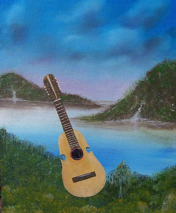 Landscape Painting - Cuatro by Tony Rodriguez