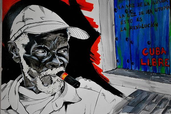 Cuba Painting - Cuba Libre by Dadi Artist